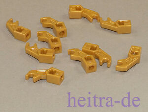 LEGO-10-x-Arm-Mechanical-Exo-Force-Bionicle-goldfarben-98313-NEUWARE
