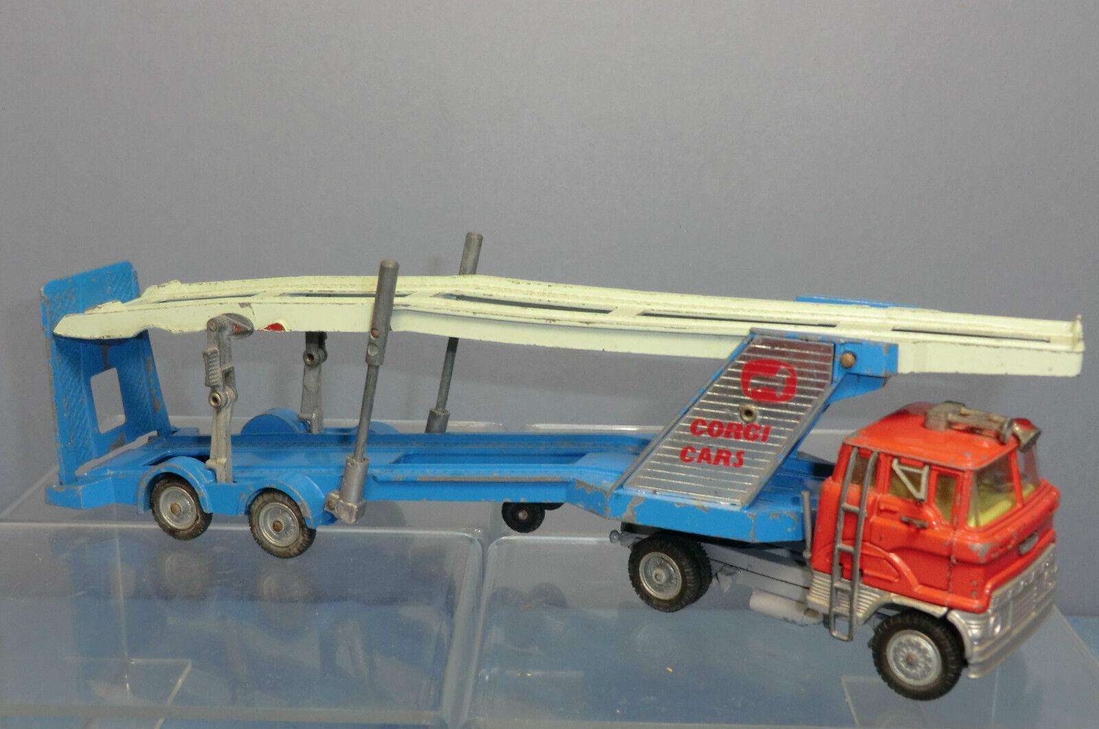 CORGI MAJOR Model No.1138 FORD TILT CAB  CORGI VOITURES  CARRIMORE Transporteur