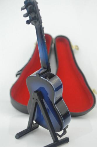 NUOVO modello di figura 1//6 Blu Chitarra Classica Set Accessori strumenti musicali