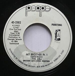 Hear-Funk-Promo-45-The-Jb-039-S-My-Brother-Same-On-People-Promo