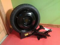 11-15 Chevy Spark Spare Tire Wheel Donut With Jack
