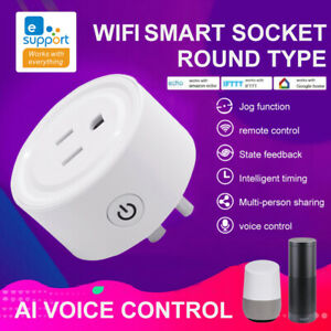 NEW-eWelink-ZigBee-Smart-Plug-WIFI-Socket-Switch-For-Alexa-Samsung-SmartThings