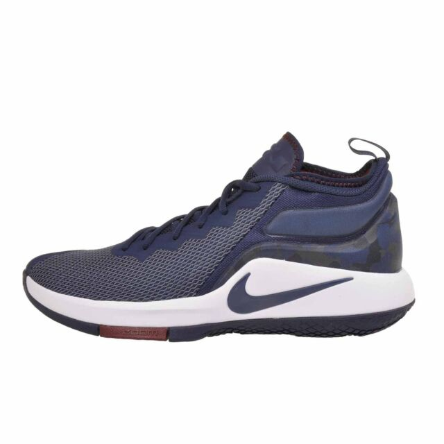 fd2e07116f1 Nike Lebron James Zoom Witness II College Navy Blue White Shoes Sz ...