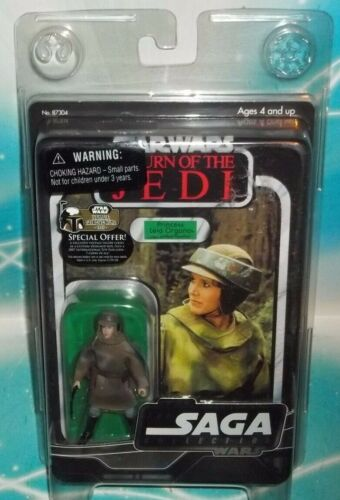 STAR WARS VOTC VTSC ORIGINAL TRILOGY SERIES ENDOR LEIA IN COMBAT PONCHO FIGURE