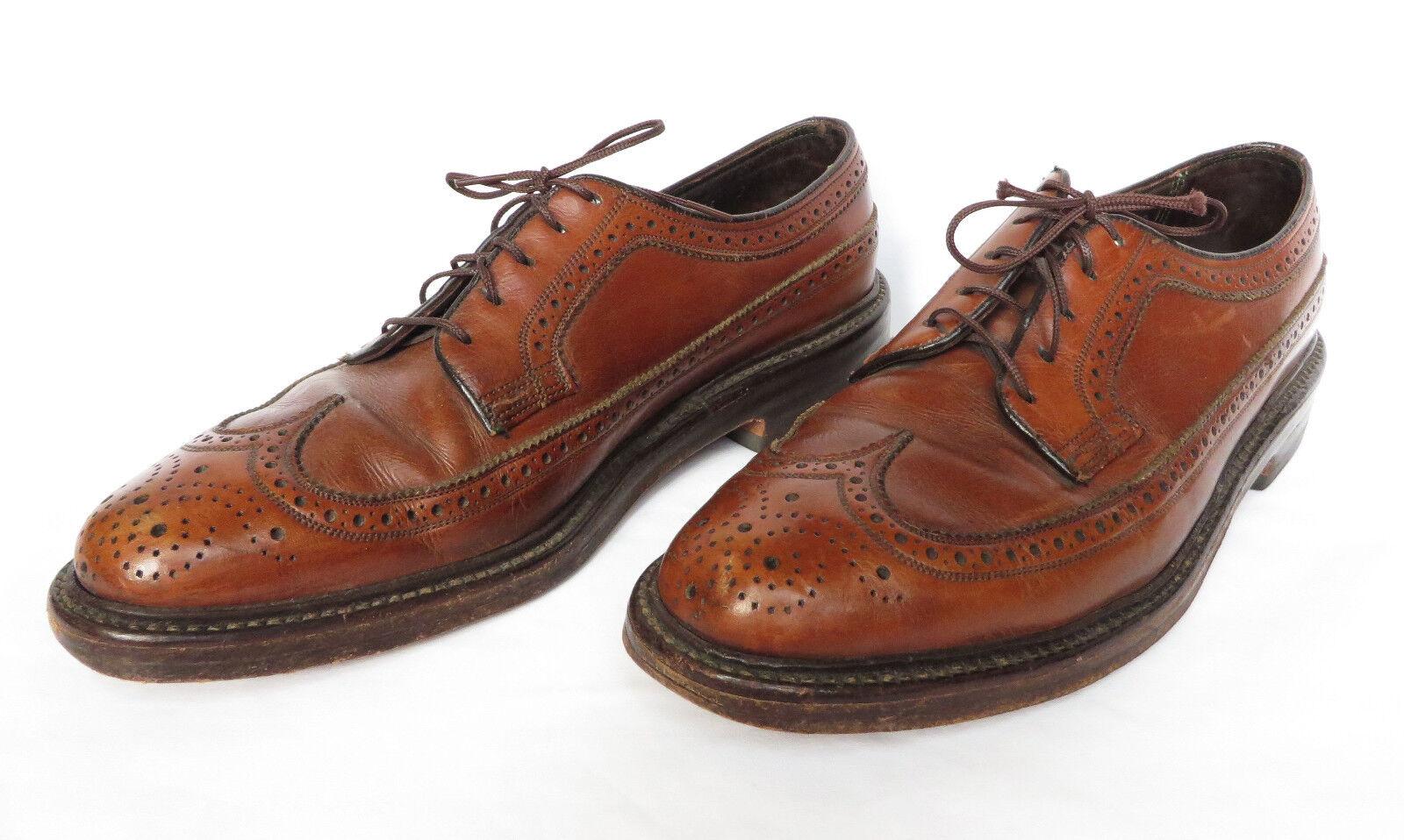 Florsheim Imperial Kenmoor 93602 Homme Marron Bout D'Aile Derbies Chaussures 8 C