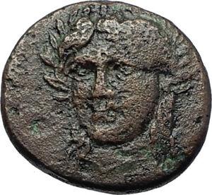 GRYNION-or-Gyrneion-Aeolis-306BC-Apollo-Shell-RARE-Ancient-Greek-Coin-i70480