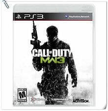 PS3 Call of Duty Modern Warfare 3 COD MW3 Sony Activision Shooting Games