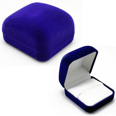 Hot Sale Useful Engagement Jewelry Ring Box Earring Pendant Display Holder Case
