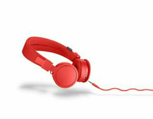 NEW UrbanEars Plattan On-Ear Headphones Plattan tomato/black