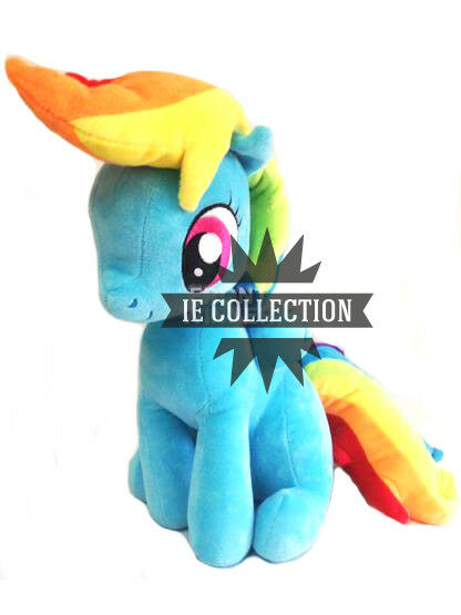 MY LITTLE PONY RAINBOW DASH SOFT TOY 30 CM SNOWMAN plush doll l'friendship è