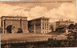 Vintage Postcard - Furnald Hall Journalism Building Columbia University  #3161