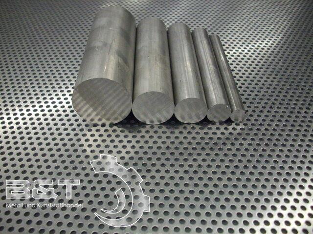 Aluminium Rund Bohr Drehqualität Drm.70 mm Rundmaterial Aluminium Längen wählbar