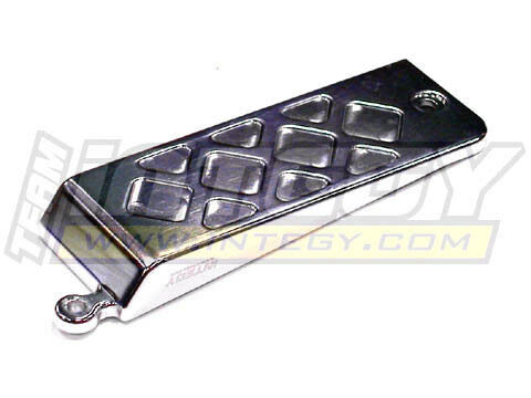 T3267SILVER Evolution-5 Electronics Box Lower Cover for Traxxas Slayer both
