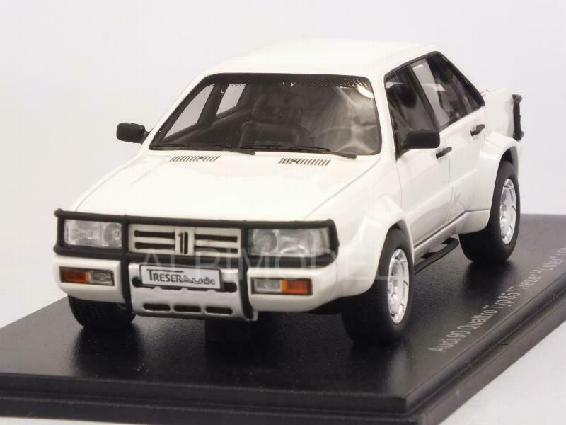 Audi 90 Quattro Typ 85 Treser Hunter 1986 blanc 1 43 NEO 47025