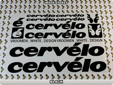 CERVELO Stickers Decals Bicycles Bikes Cycles Frames Forks Mountain MTB BMX 57L