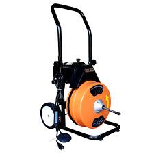 Sewer Machine 75x12 Electric Drain Cleaner Drain Auger Machine 5 Cutters
