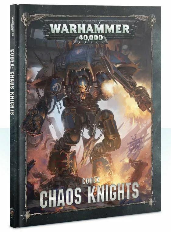 Chaos Knights Codex (Alemán) Juegos Workshop Warhammer 40.000 Caballero 8th