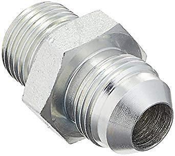 7//8-14 JIC Thread x M18 x 1.5 Metric Thread Midland 7005-10-18 Steel Male Connector