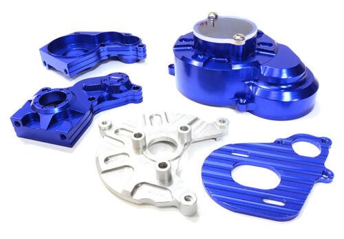 INTEGY RC C26724BLUE Gear Cover Motor Mount /& Gear Box Case for SCX-10 Crawler
