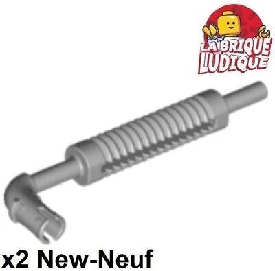 2x vehicle voiture pot échappement exhaust pipe gris//l b gray 14682 NEUF Lego