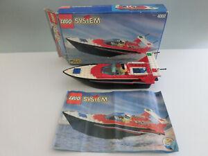 (go) Lego System 4002 Riptide Racer Avec Neuf Dans Sa Boîte & Ba 100% Complet D'occasion Pour Convenir à La Commodité Des Gens