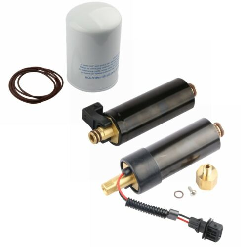 New High /& Low Electric Fuel Pump w// Filter For Volvo Penta 4.3 5.0 5.7 GXI