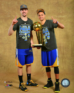 Image Is Loading Stephen Curry Amp Klay Thompson Warriors NBA Trophy