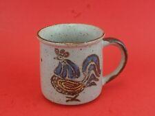 Japanese OTAGIRI Vintage Retro Rooster Coffee Cup Mug