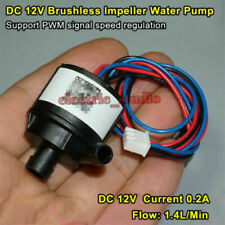 Dc 12v Mini Brushless Water Pump Submersible Impeller Centrifugal Pump Fountain