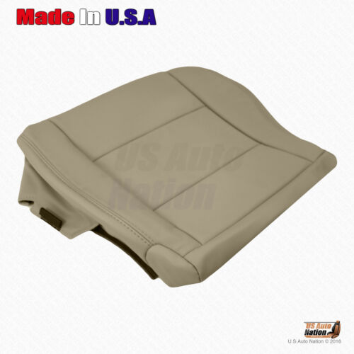 Fits 1998-2007 Toyota Land Cruiser Driver Bottom Leather Replacement Cover Tan