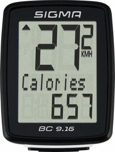 Sigma BC 9.16 Câblé Cyclisme Ordinateur