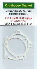 OS MAX-H 60 FRONT Crankcase Housing Gasket 2 Pack NIP