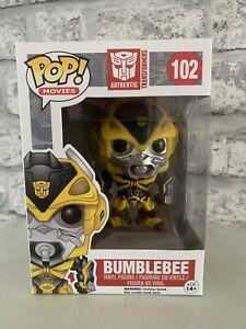 Transformers-Bumblebee-102-Funko-Pop-Vinyl-Vaulted