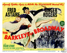 THE BARKLEYS OF BROADWAY LOBBY SCENE CARD POSTER 1949 FRED ASTAIRE GINGER ROGERS