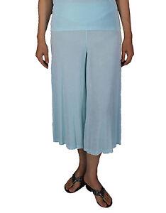 4cd3d3de25 Womens Sky Gaucho Dress Pants Plus Size Slinky Stretch Casual Travel ...
