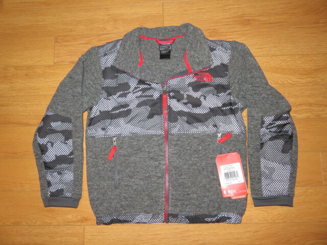 e759660f8fbdd The North Face Denali Jacket Grey Camo TNF Youth Size XL Extra Large ...
