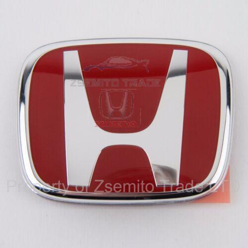 Honda Civic Red Emblem Rear Type R Si JDM EP3 Genuine 75701S5TE01