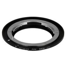 Fotodiox objetivamente adaptador pro Nikon lente para Canon EOS cámara con chip
