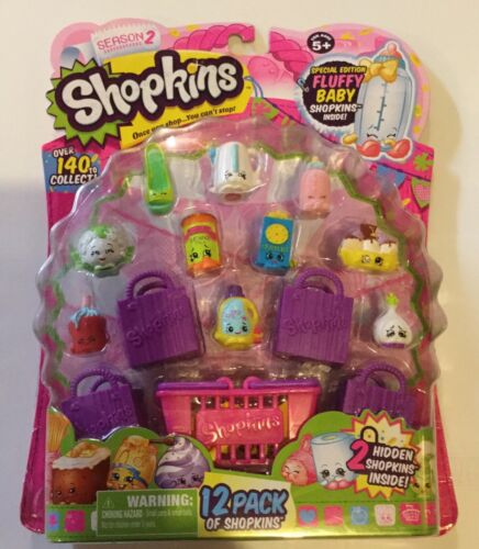 4 Shopkins Season 1 or 6 12 Pack or 5 packs U Pick 3 2 5