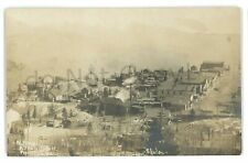RPPC View of ALTMAN CO Cripple Creek District GHOST TOWN Real Photo Postcard
