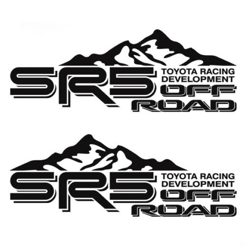 Toyota SR5 Truck Mountain Off-Road 4x4 Racing Tacoma Decals Vinyl Sticker ef