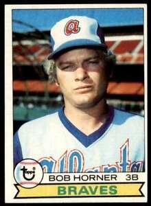 1979 Topps Bob Horner Atlanta Braves #586