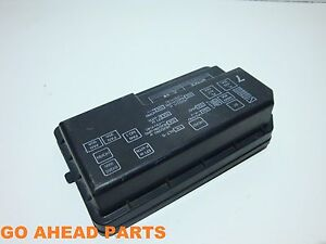 toyota corolla e11 97 02 1 6 engine compartment fuse box cover ebay rh ebay co uk 97 toyota corolla fuse box diagram