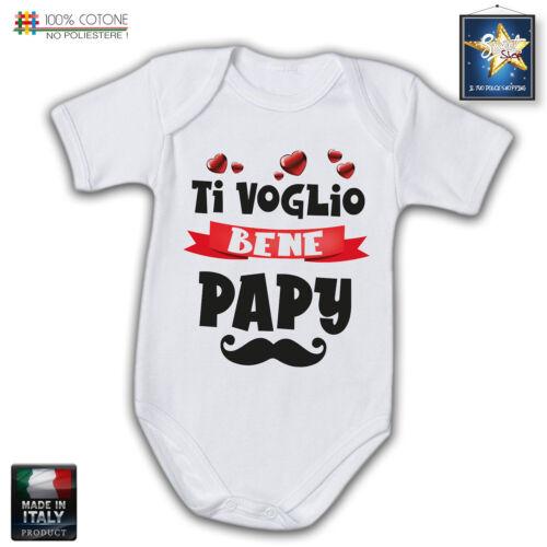 Body neonato auguri PAPA/' MY DAD idea regalo Fun FESTA DEL PAPA/'idea regalo