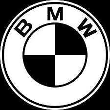 BMW logo sticker decal on High Quality Vinyl  Buy 2 get 1 Free