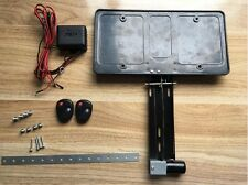 Camaro Charger Retractable License Plate Frame POWERED Show N Go