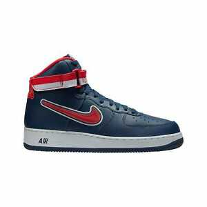 a30ac52338ff7 Nike Air Force 1 High '07 LV8 Sport Midnight Navy/University Red ...