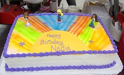 Superb Decopac Bratz Dolls Birthday Cake Topper Toy Set New Ebay Personalised Birthday Cards Akebfashionlily Jamesorg