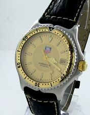 TAG Heuer Professional WI1251 Herren Uhr Stahl/Gold 200M Date Box