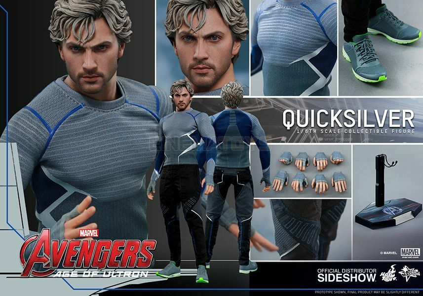 MARVEL Quickargentoo 16 azione cifra caliente giocattoli The Avengers Age of Ultron MMS302